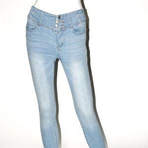 Classic Light Wash Skinny Jeans